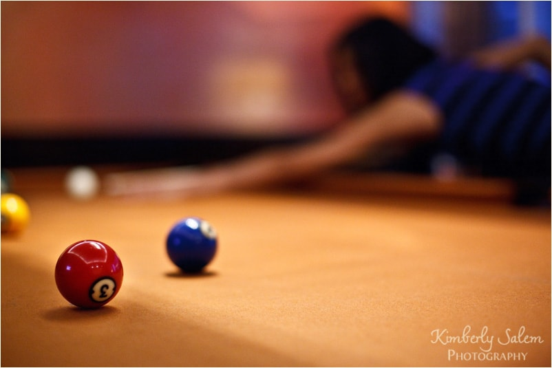 Diana - pool table