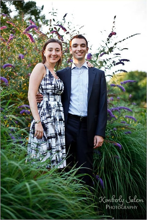 Jocelyn & Zach - flowers & grass