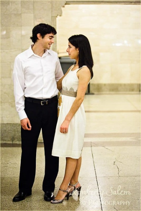 Sarah and David - Grand Central
