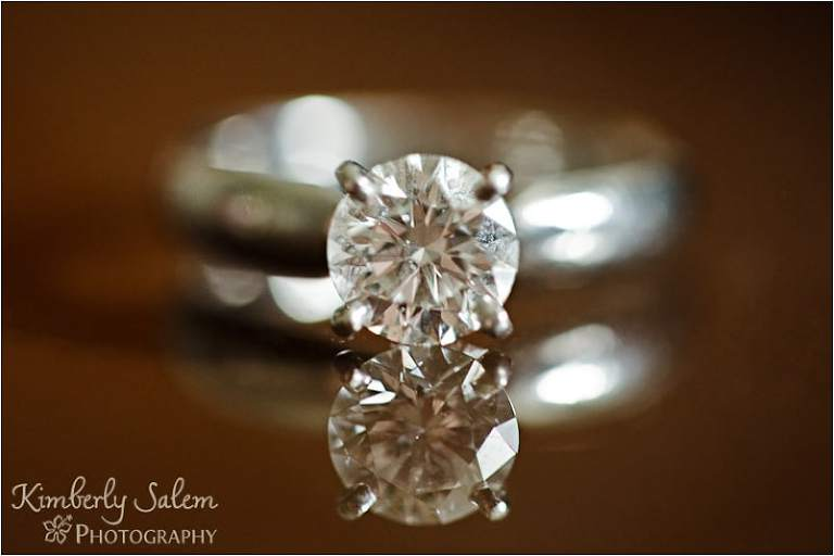 Closeup of the ring