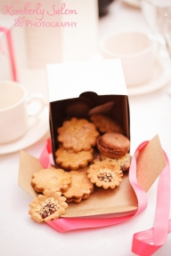 Polish cookies as the wedding favor