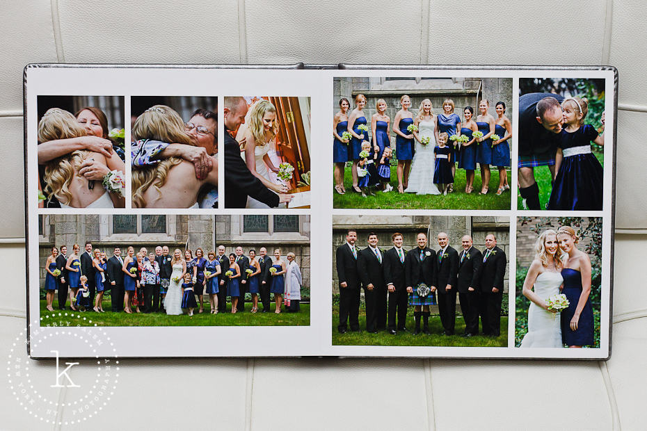 wedding album spread - formals - 10