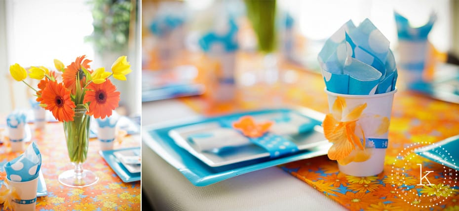 centerpiece and place settings