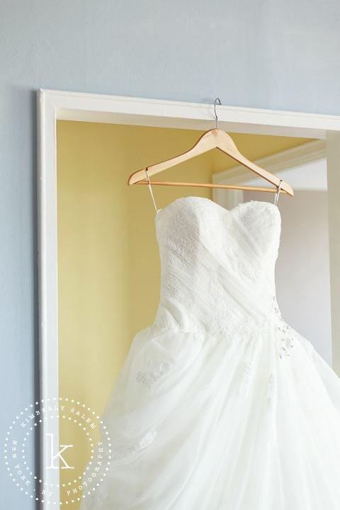 wedding dress detail
