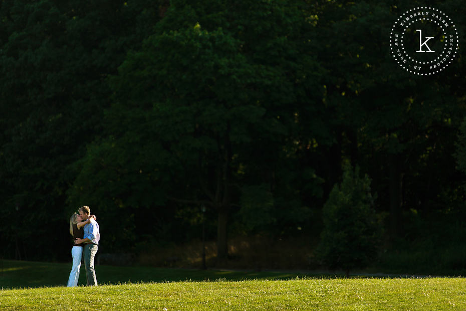 engaged couple - Prospect Park