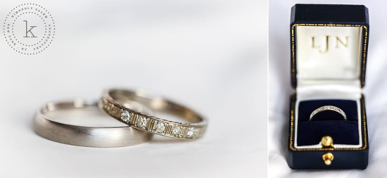 wedding bands - detail