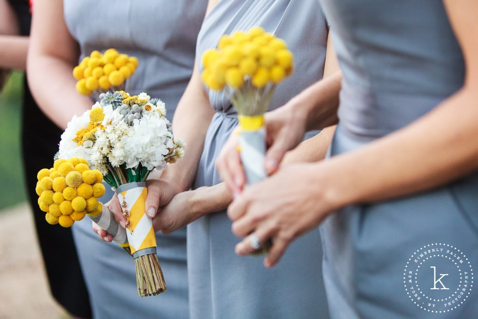 bridal and bridesmaid bouquets
