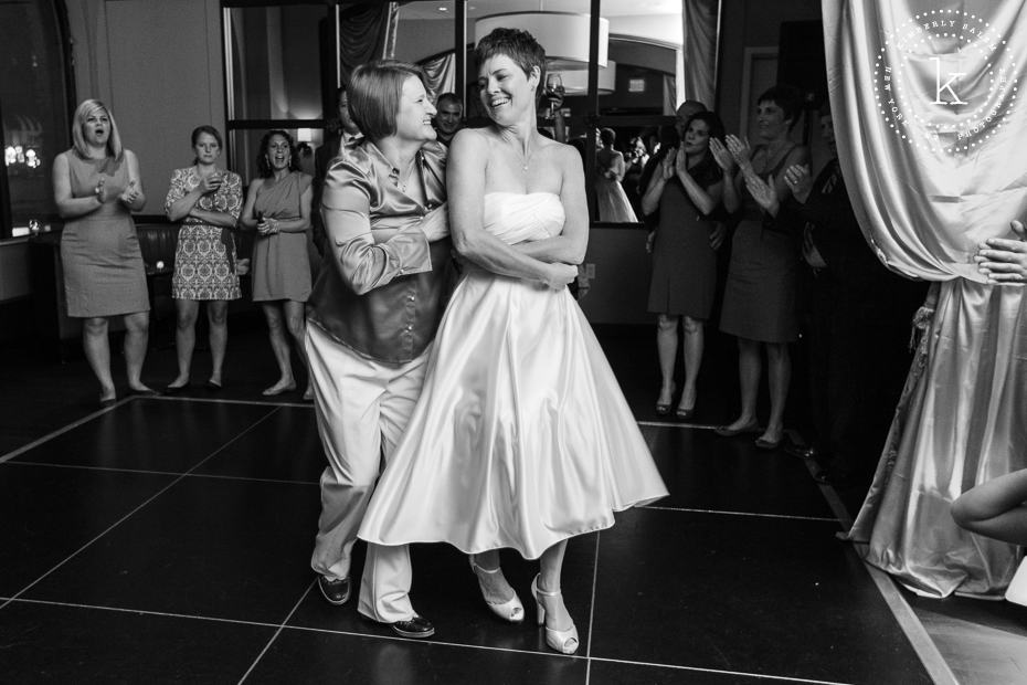 two brides - first dance