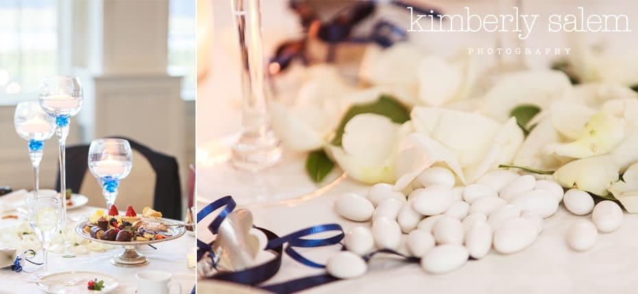 wedding desserts and jordan almonds