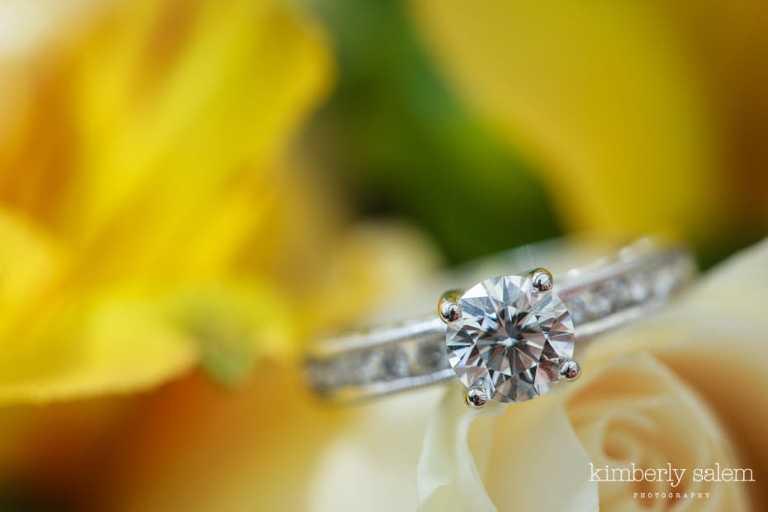 engagement ring detail