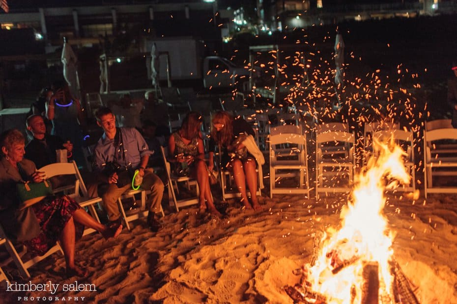 beach bonfire afterparty