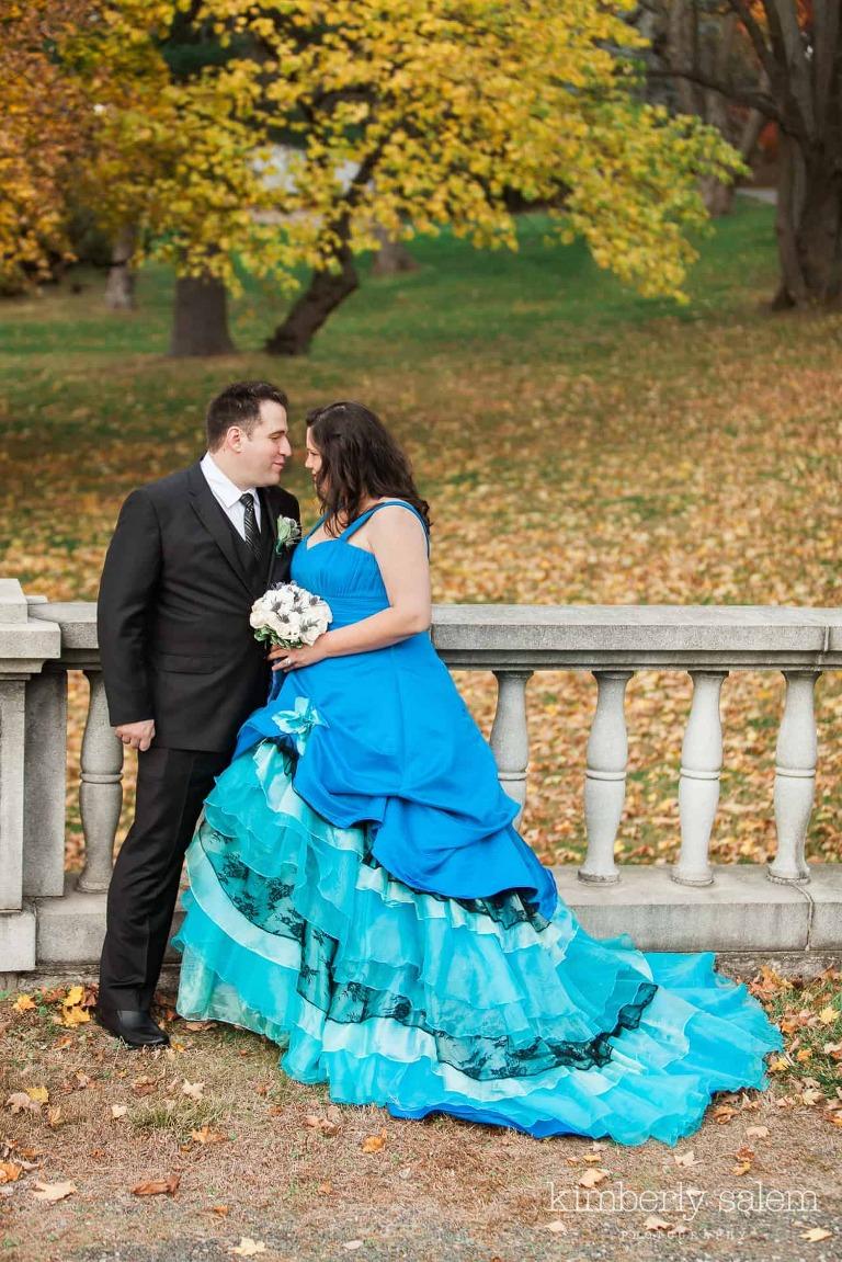 ann and kevin wedding portrait