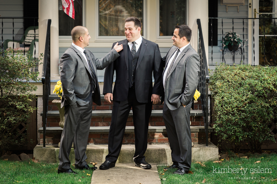 the groom and his two best men